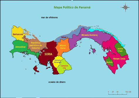 Panama Mapa | threeblindants.com