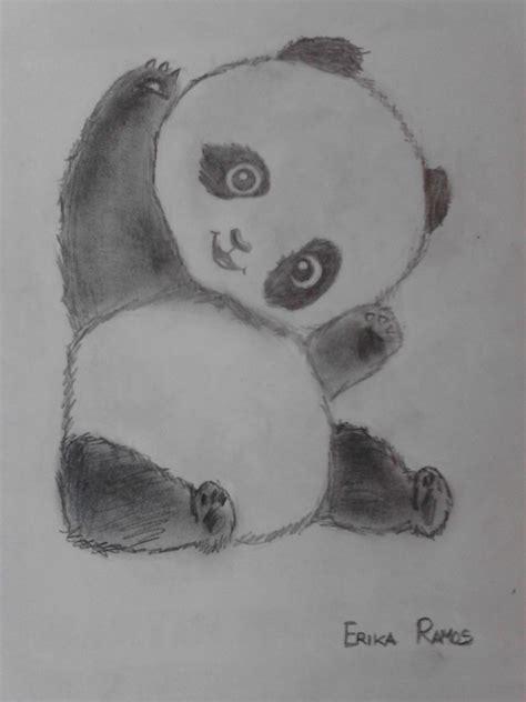 Panda dibujo a lapiz | dibujos | Pinterest | Pandas dibujo ...