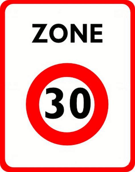 Panneau  Zone 30    Blog de testcodedelaroute