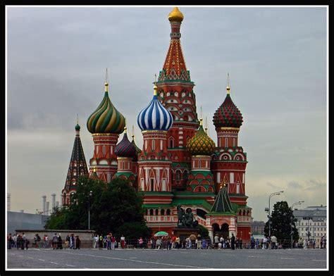 Panoramica: Catedral San Basilio, Plaza roja, Moscu. Rusia