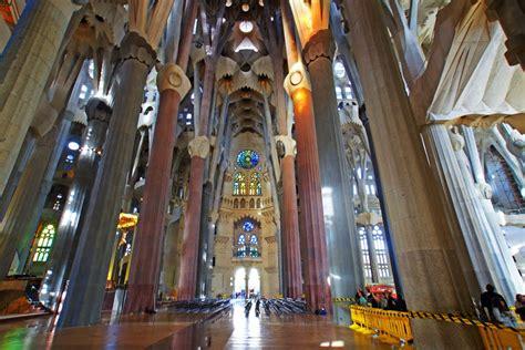 Panoramio   Photo of Sagrada Familia interior