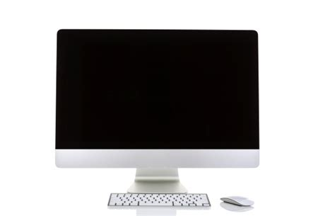 Pantalla de ordenador sobre un fondo blanco | Descargar ...