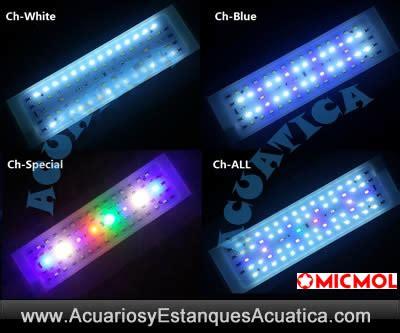 PANTALLAS LED MICMOL AQUA AIR ACUARIOS DULCES - Acuarios y ...