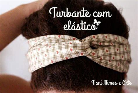 PAP de uma faixa turbante com elástico para os cabelos ...