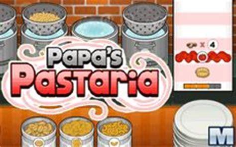 Papa's Pastaria - Aprenderás a cocinar pasta italiana ...