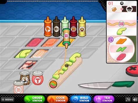 Papa's Sushiria GRATIS en JuegosJuegos.com.ar