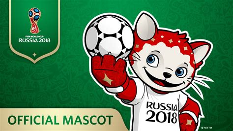 Papel de parede do Mascote da Copa do Mundo 2018
