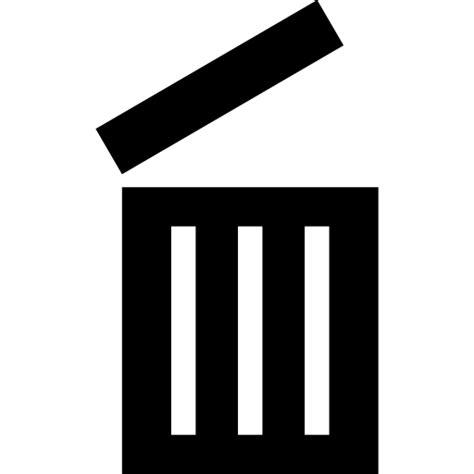 Papelera abierta - Iconos gratis de Herramientas y utensilios