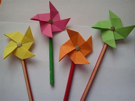 Paper Folding Crafts For Kids | ye craft ideas