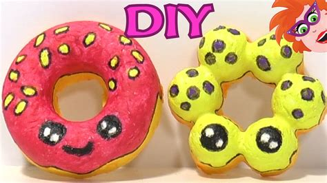 Papier mache kawaii donuts knutselen   Heel leuk en ...