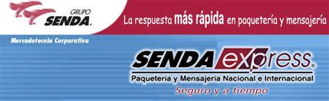 PAQUETERIA Y MENSAJERIA SENDA EXPRESS / Sección Amarilla