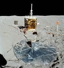 Paquetes de experimentos Apolo en la superficie lunar ...
