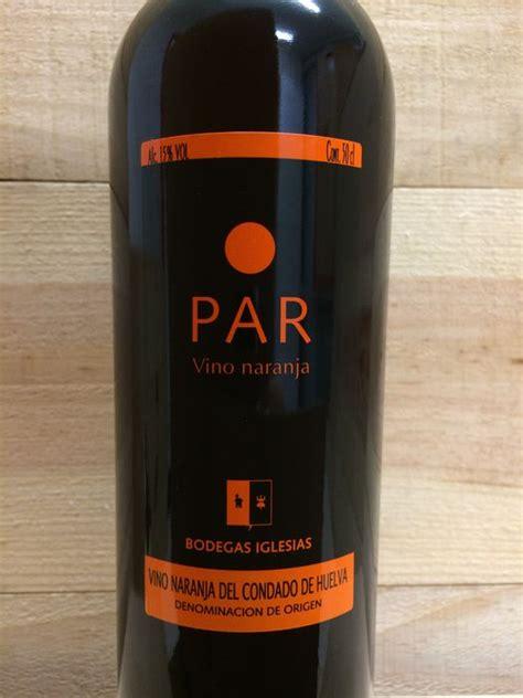 PAR Vino Naranja, Bodegas Iglesias - 6 bottles 50cl - Catawiki