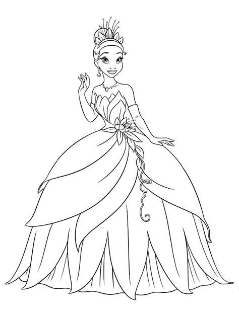 Para Colorear Princesas. Good La Sirenita Dibujo Para ...