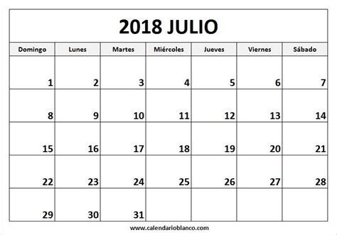 Para Imprimir Calendario Julio 2018   calendario 2018 ...