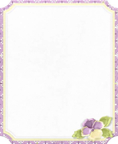 PARA IMPRIMIR: Marcos para imprimir firmas de violetas