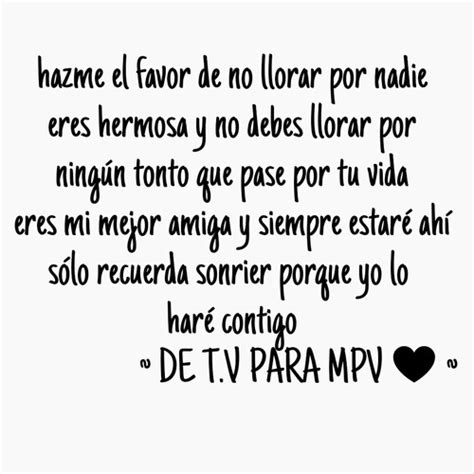 Para mi mejor amiga discovered by Tapy♥ on We Heart It