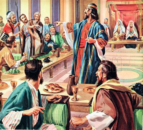 Parable Of The Marriage Feast | The Parable of the Wedding ...