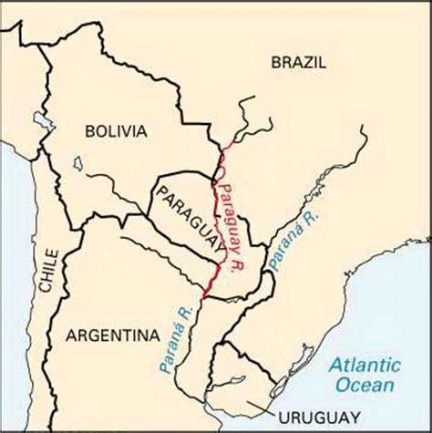 Paraguay River: location    Kids Encyclopedia   Children s ...