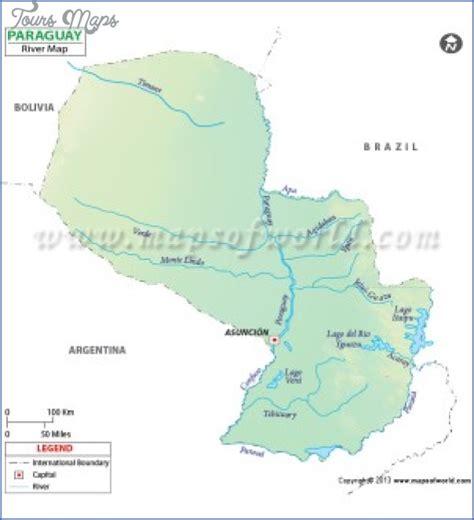 PARAGUAY RIVER ON WORLD MAP   ToursMaps.com