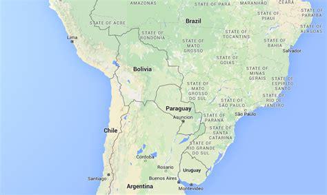 Parana River Map Related Keywords   Parana River Map Long ...