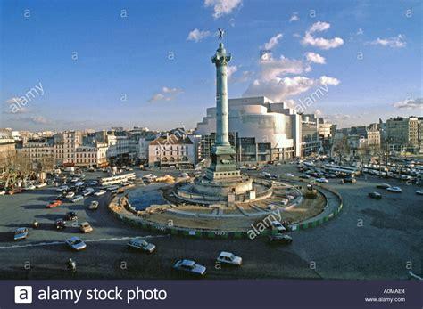Paris France, Place de la Bastille with the