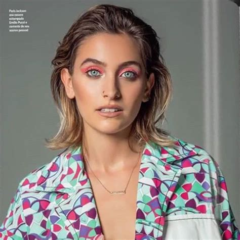 Paris Jackson Vogue Brazil January 2018 | paris jackson ...