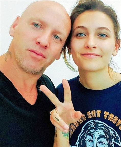 Paris Jackson with the photographer for the January 2018 ...