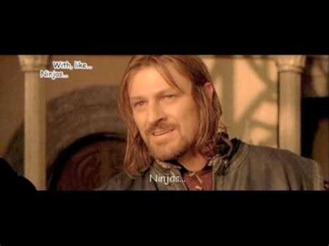 parodia el señor de los anillos ( dialogo muy weno ) - YouTube