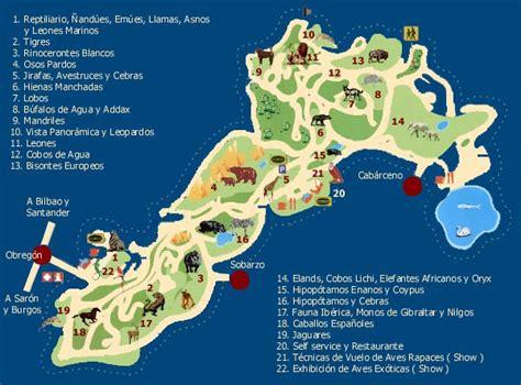 Parque de Cabarceno :: Coordenadas gps - España