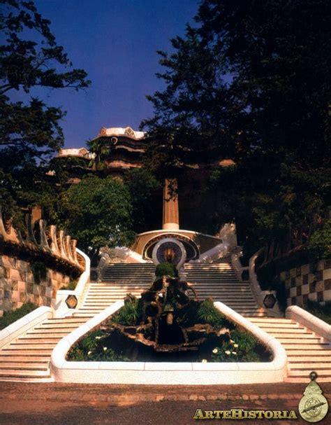 Parque Güell (Barcelona). Escalinata principal - Obra ...