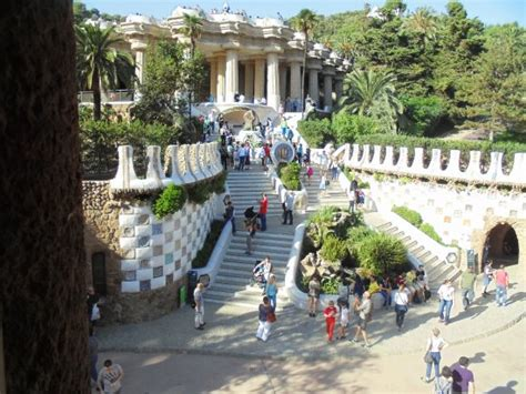 Parque Guell - iguana de escalera: fotografía de Park ...