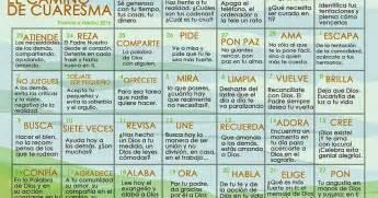 Parroquia La Inmaculada: Calendario Cuaresma 2015