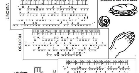 Parroquia La Inmaculada: Criptograma Miércoles de Ceniza