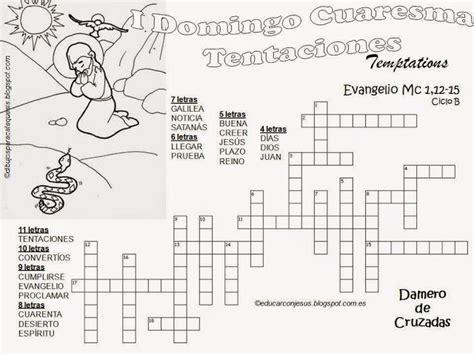 Parroquia La Inmaculada: I Domingo de Cuaresma: Fichas ...