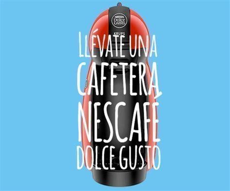 Participa en el sorteo de 8 cafeteras Nescafé Dolce Gusto ...