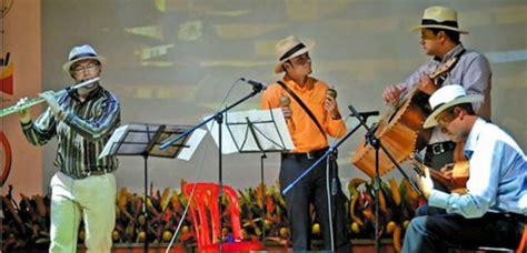 Participantes al 42 festival de música andina Mono Núñez