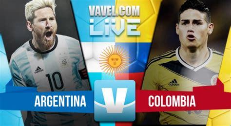 Partido Argentina vs Colombia por las Eliminatorias al ...
