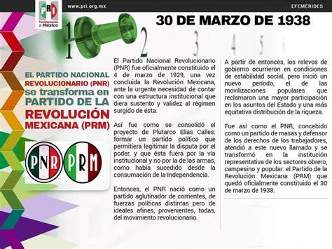 Partido nacional revolucionario 1938 cadillac