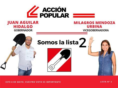 Partido Político Acción Popular elige en la región Piura ...