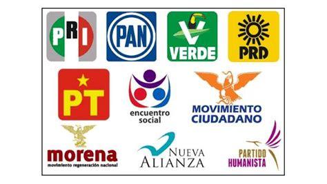 """Partidos """"partidos"""": PRI, PAN, PRD y Morena, y el punto de ..."""