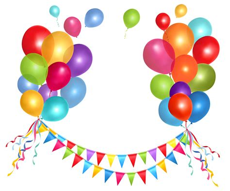 Party Balloons Png   ClipArt Best