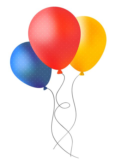 Party Balloons PNG Image   PngPix