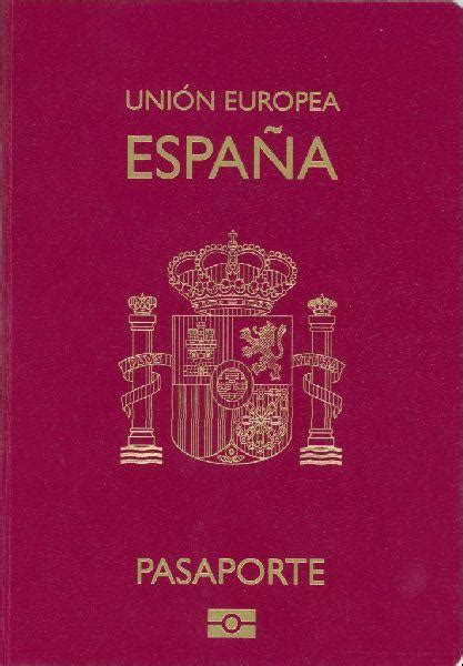 Pasaporte español - Wikipedia, la enciclopedia libre