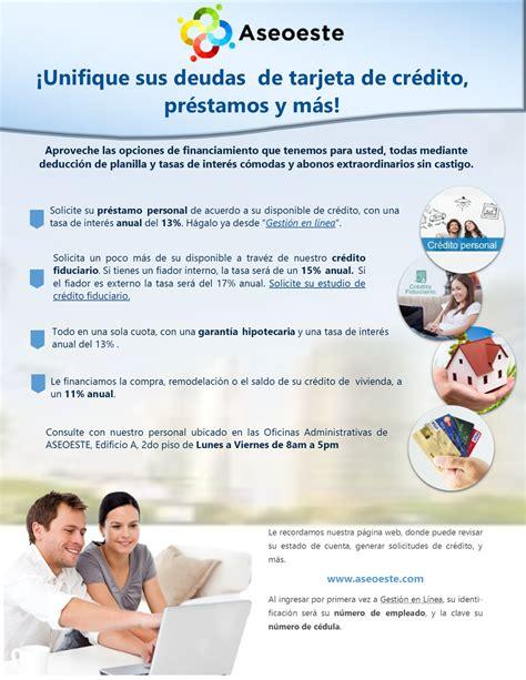 Pasar Deuda Tarjeta De Credito A Prestamos - creditos ...
