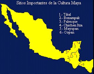 Paseando por la Historia: La civilización maya