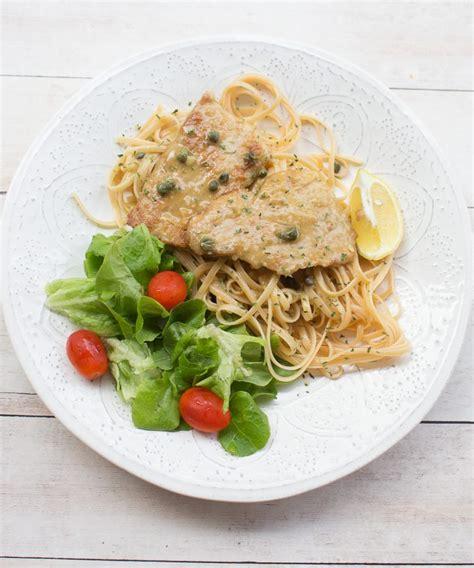 Pastas Italianas   Escalopines de Ternera en Salsa Piccata ...