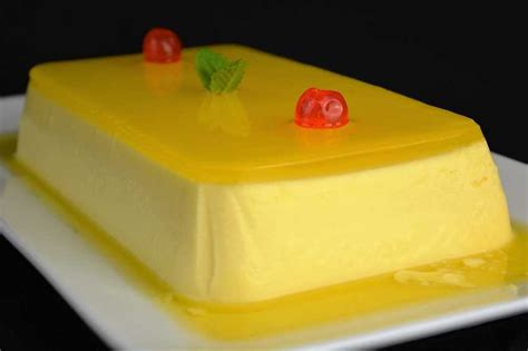 Pastel de naranja con gelatina