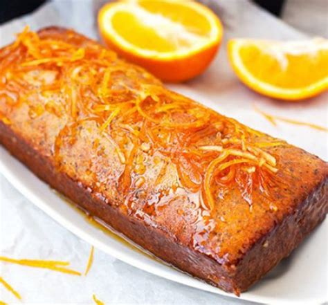 Pastel de Naranja Confitada con Semillas de Amapola Receta