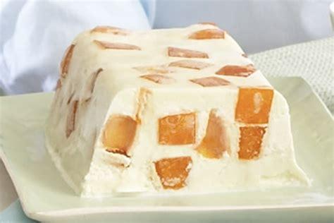 Pastel helado con gelatina de naranja Receta - Comida Kraft